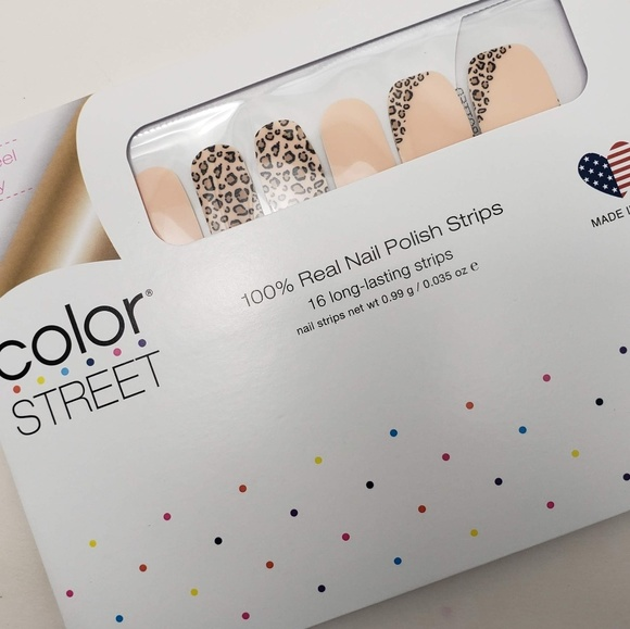 Color Street Other - COLOR STREET Trend Spotted Nail Strips
